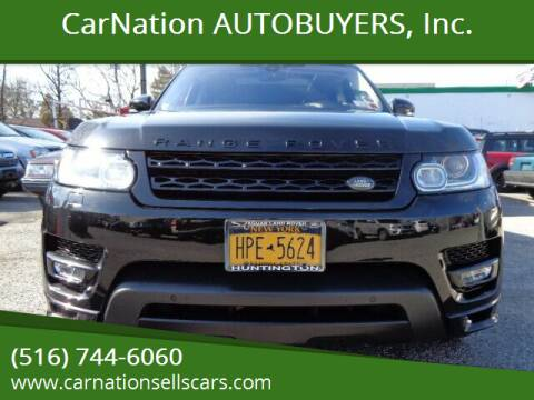 2017 Land Rover Range Rover Sport for sale at CarNation AUTOBUYERS Inc. in Rockville Centre NY
