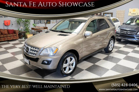 2009 Mercedes-Benz M-Class for sale at Santa Fe Auto Showcase in Santa Fe NM