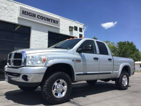 2007 Dodge Ram Pickup 2500 for sale at High Country Motor Co in Lindon UT