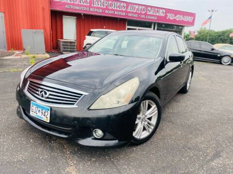 2012 Infiniti G37 Sedan for sale at LUXURY IMPORTS AUTO SALES INC in North Branch MN