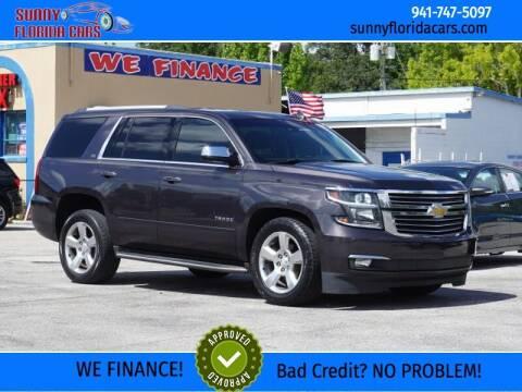 2015 Chevrolet Tahoe for sale at Sunny Florida Cars in Bradenton FL