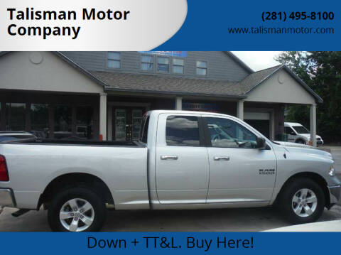 2015 RAM Ram Pickup 1500 for sale at Talisman Motor Company in Houston TX