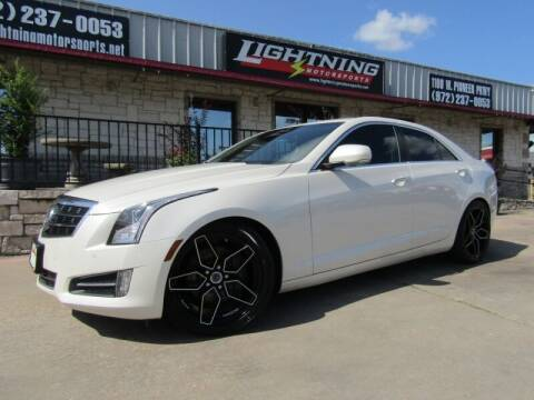 2014 Cadillac ATS for sale at Lightning Motorsports in Grand Prairie TX