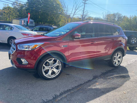2017 Ford Escape for sale at COUNTRY SAAB OF ORANGE COUNTY in Florida NY