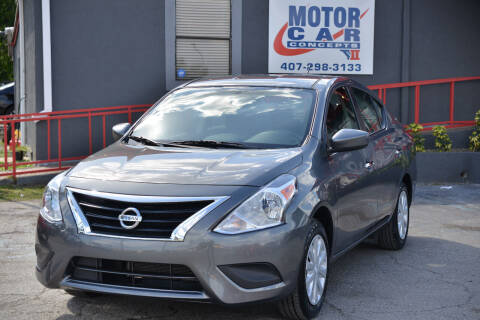 2018 Nissan Versa for sale at Motor Car Concepts II - Apopka Location in Apopka FL