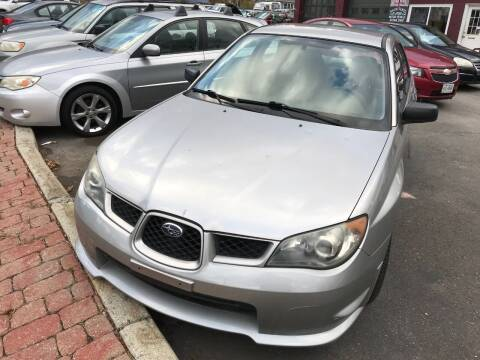 2006 Subaru Impreza for sale at DPG Enterprize in Catskill NY