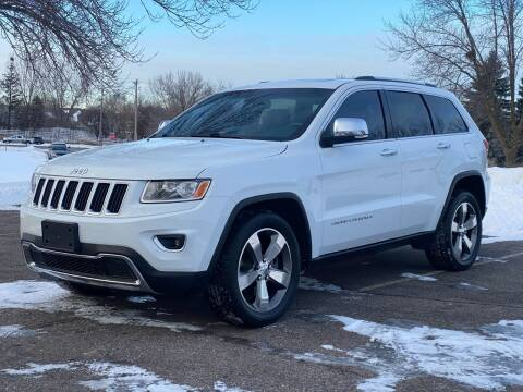 2015 Jeep Grand Cherokee for sale at North Imports LLC in Burnsville MN