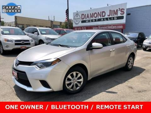 2014 Toyota Corolla for sale at Diamond Jim's West Allis in West Allis WI