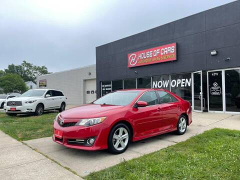 2012 Toyota Camry for sale at HOUSE OF CARS CT in Meriden CT