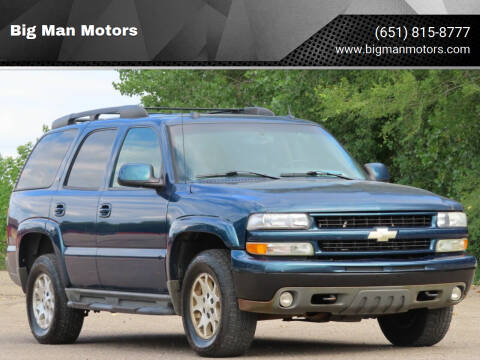 2005 Chevrolet Tahoe for sale at Big Man Motors in Farmington MN