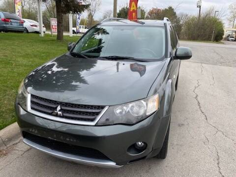 2009 Mitsubishi Outlander for sale at NORTH CHICAGO MOTORS INC in North Chicago IL