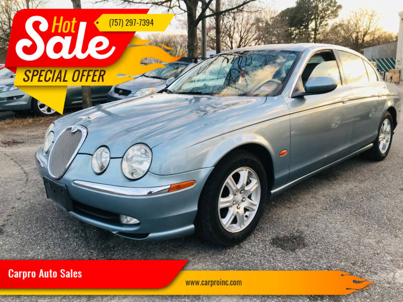 2004 Jaguar S-Type for sale at Carpro Auto Sales in Chesapeake VA