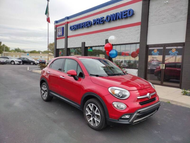 2016 FIAT 500X for sale at Ultimate Auto Deals DBA Hernandez Auto Connection in Fort Wayne IN