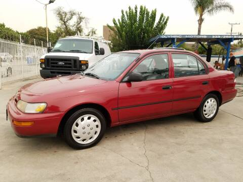 1997 Toyota Corolla for sale at Olympic Motors in Los Angeles CA