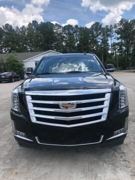 2018 Cadillac Escalade ESV for sale at Gralin Hampton Auto Sales in Summerville SC