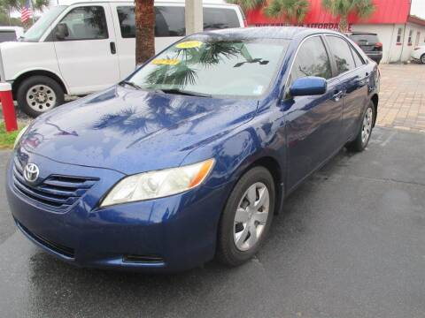 2007 Toyota Camry for sale at Affordable Auto Motors in Jacksonville FL