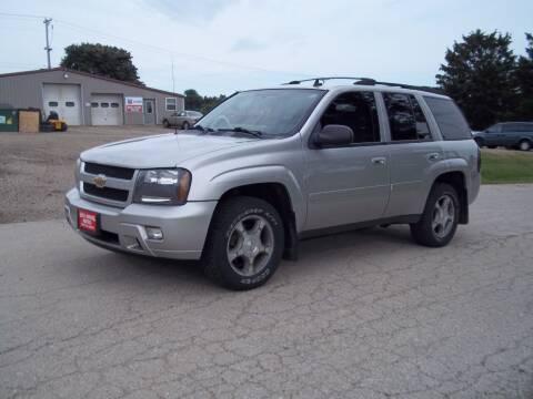 2008 Chevrolet TrailBlazer for sale at SHULLSBURG AUTO in Shullsburg WI