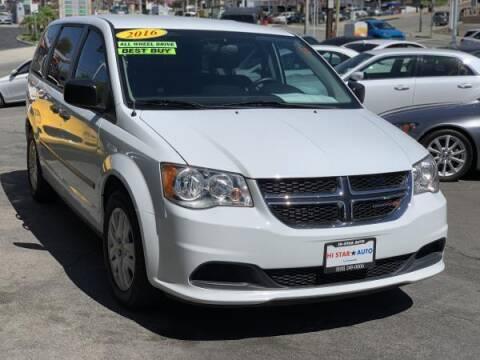 2016 Dodge Grand Caravan for sale at CAR CITY SALES in La Crescenta CA
