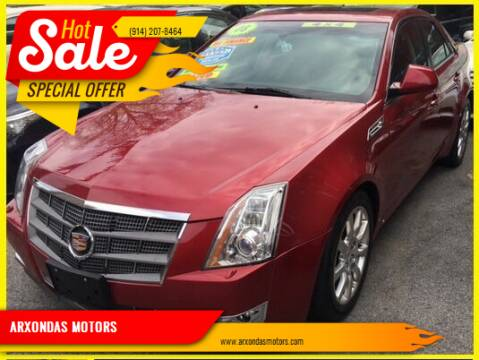 2008 Cadillac CTS for sale at ARXONDAS MOTORS in Yonkers NY