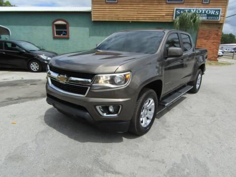2017 Chevrolet Colorado for sale at S & T Motors in Hernando FL