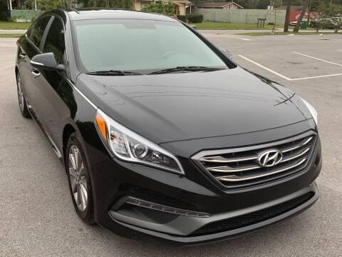 2017 Hyundai Sonata for sale at Consumer Auto Credit in Tampa FL