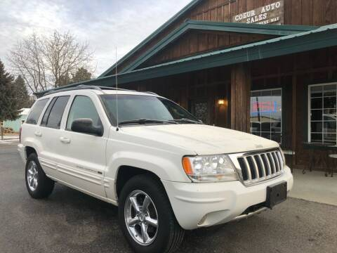 2004 Jeep Grand Cherokee for sale at Coeur Auto Sales in Hayden ID