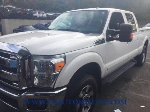 2013 Ford F-250 Super Duty for sale at J & M Automotive in Naugatuck CT