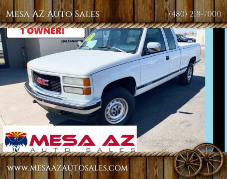 1994 GMC Sierra 2500 for sale at Mesa AZ Auto Sales in Apache Junction AZ