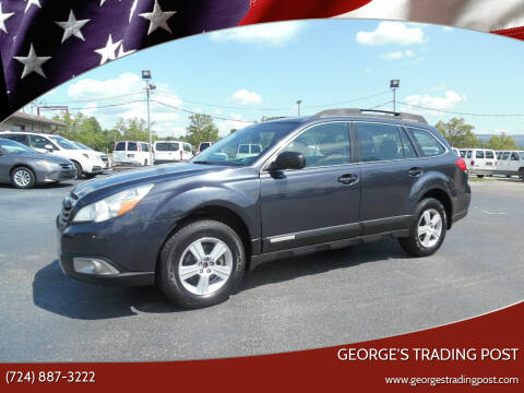 2010 Subaru Outback for sale at GEORGE'S TRADING POST in Scottdale PA