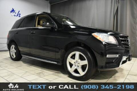 2014 Mercedes-Benz M-Class for sale at AUTO HOLDING in Hillside NJ