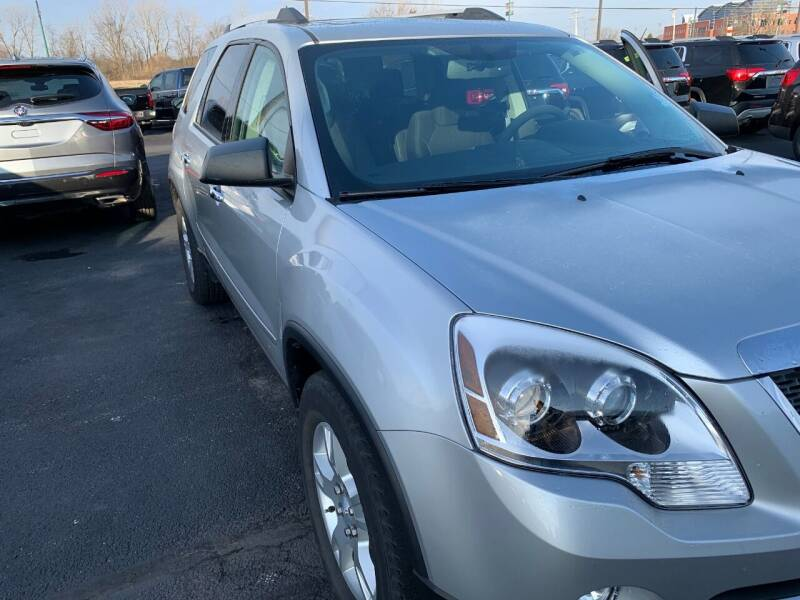 2012 GMC Acadia for sale at MEANS SALES & SERVICE in Warren PA
