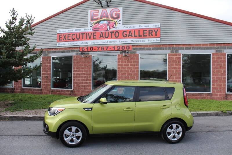 2018 Kia Soul for sale at EXECUTIVE AUTO GALLERY INC in Walnutport PA