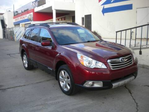 2012 Subaru Outback for sale at AUTO SELLERS INC in San Diego CA