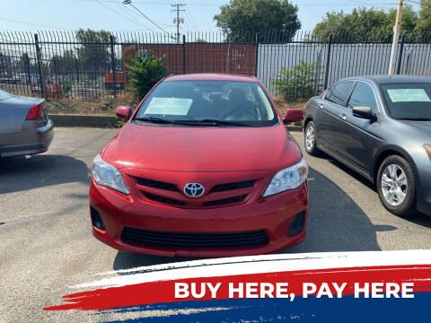 2011 Toyota Corolla for sale at El Compadre Auto Plaza in Modesto CA