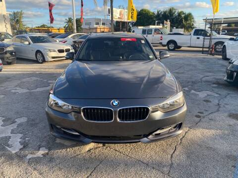 2012 BMW 3 Series for sale at America Auto Wholesale Inc in Miami FL