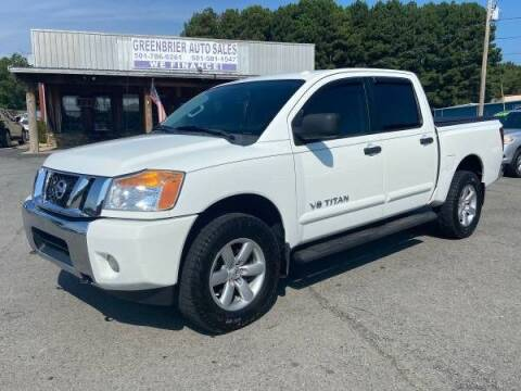 2014 Nissan Titan for sale at Greenbrier Auto Sales in Greenbrier AR