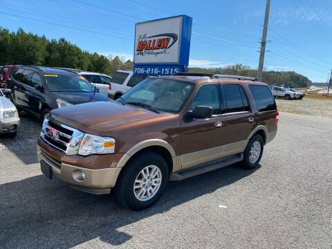 2011 Ford Expedition for sale at Billy Ballew Motorsports in Dawsonville GA