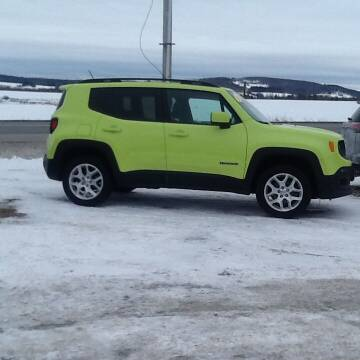 2017 Jeep Renegade for sale at Garys Sales & SVC in Caribou ME
