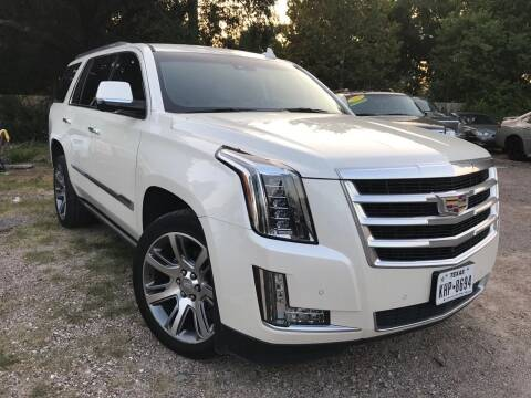2015 Cadillac Escalade for sale at Texas Luxury Auto in Houston TX