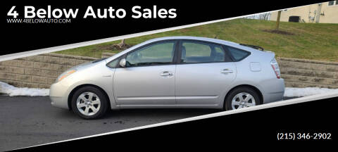 2007 Toyota Prius for sale at 4 Below Auto Sales in Willow Grove PA