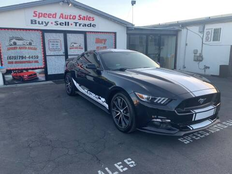 2016 Ford Mustang for sale at Speed Auto Sales in El Cajon CA