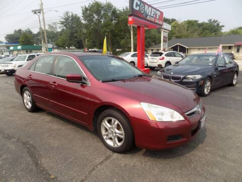 2006 Honda Accord for sale at Comet Auto Sales in Manchester NH
