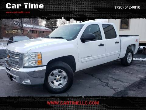 2013 Chevrolet Silverado 1500 for sale at Car Time in Denver CO