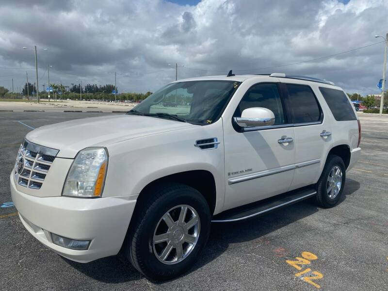 2007 Cadillac Escalade for sale at Truck Depot 2 in Miami FL