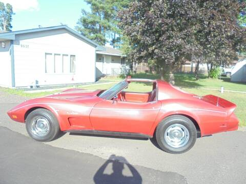 1975 Chevrolet Corvette for sale at Engels Autos Inc in Ramsey MN