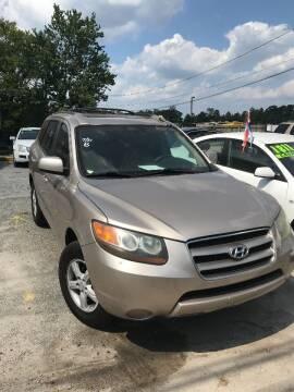 2007 Hyundai Santa Fe for sale at Jakar Auto LLC in Atlanta GA
