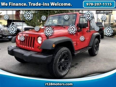 2009 Jeep Wrangler for sale at RT28 Motors in North Reading MA