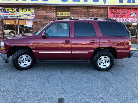 2005 Chevrolet Tahoe for sale at Atlas Cars Inc. in Radcliff KY