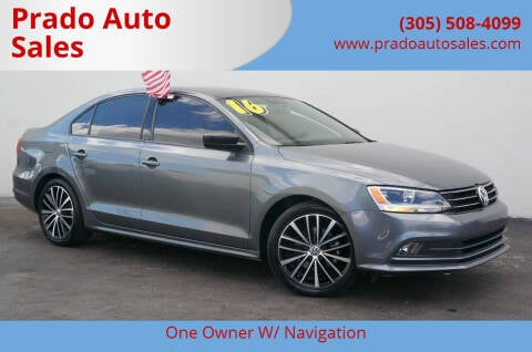 2016 Volkswagen Jetta for sale at Prado Auto Sales in Miami FL