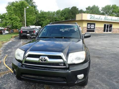 2007 Toyota 4Runner for sale at Credit Cars of NWA in Bentonville AR